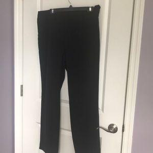 Talbots straight leg flat front dress pants